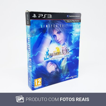 Jogo Final Fantasy X / X2: HD Remaster (Limited Edition) - PS3