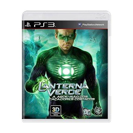 Jogo Lanterna Verde: A Ascensão dos Caçadores Cósmicos - PS3