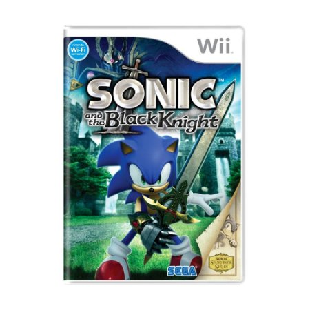 Jogo Sonic and The Black Knight - Wii