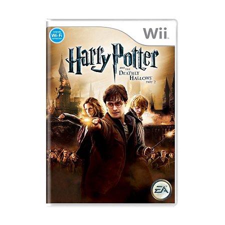 Jogo Harry Potter e as Relíquias da Morte Parte 2 - Wii