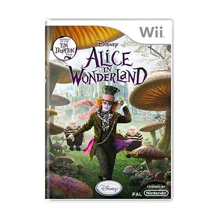 Jogo Alice in Wonderland - Wii