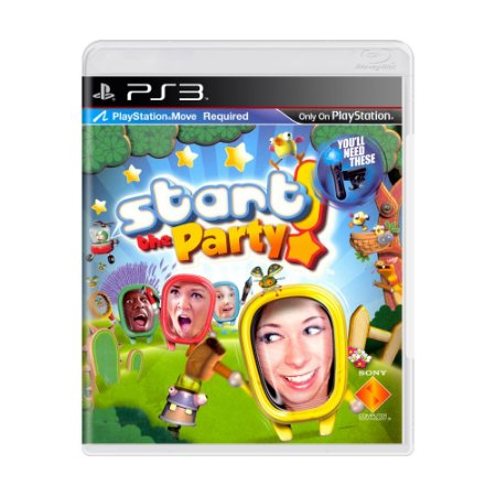 Jogo Start the Party - PS3