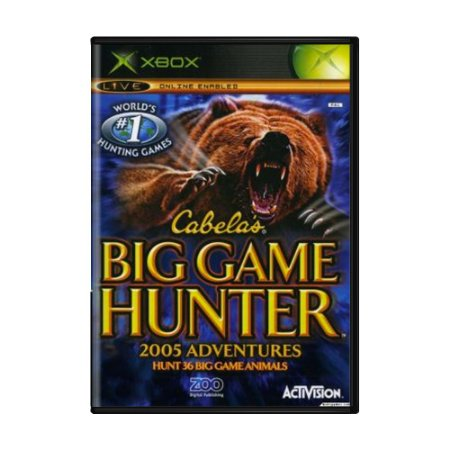 Jogo Cabela's Big Game Hunter 2005 - Xbox