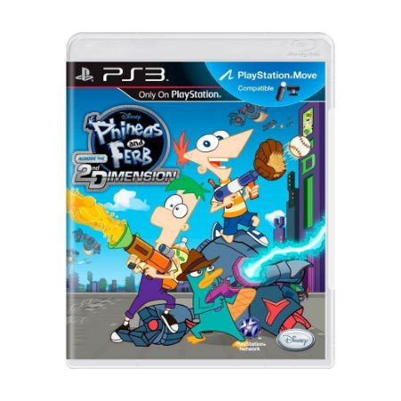 Jogo Phineas and Ferb: Across the 2nd Dimension - PS3