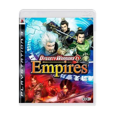 Jogo Dynasty Warriors 6: Empires - PS3