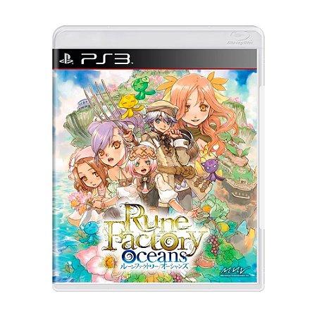 Jogo Rune Factory Oceans - PS3