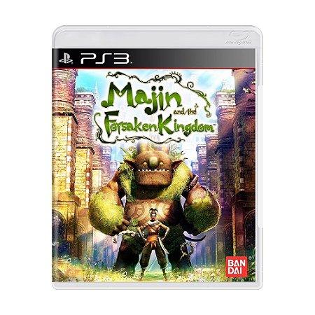 Jogo Majin and the Forsaken Kingdom - PS3