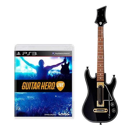 Kit Guitar Hero: Live (Guitar Bundle) - PS3