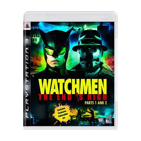 Jogo Watchmen The End is Nigh - Parte 1 e 2 - PS3