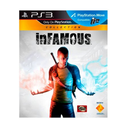 Jogo inFAMOUS - PS3 (Capa Dura)
