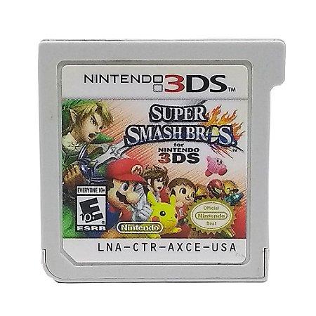 Jogo Super Smash Bros - 3DS (Sem Capa)