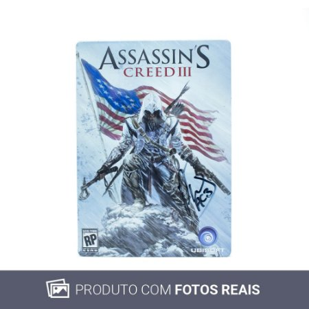 Jogo Assassin's Creed III (SteelCase) - PS3