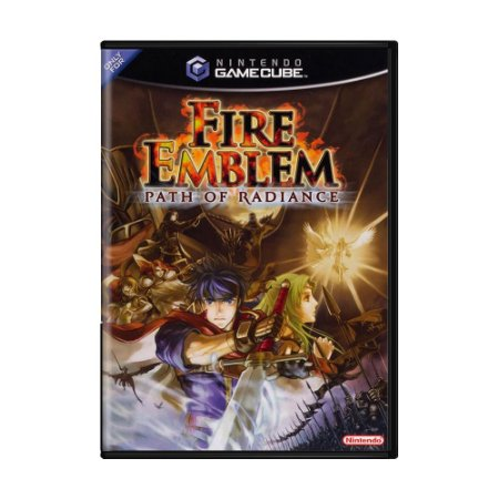 Jogo Fire Emblem: Path of Radiance - GC - GameCube