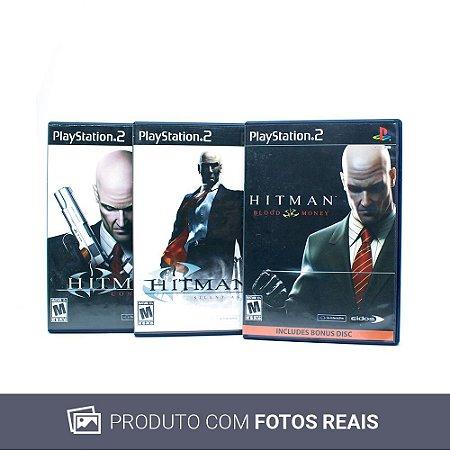 Jogos Hitman Trilogy - PS2