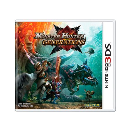 Jogo Monster Hunter Generations - 3DS