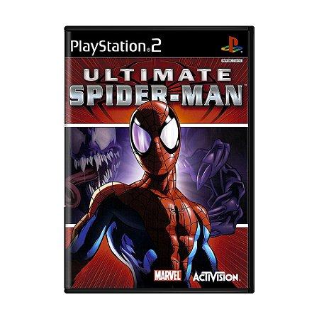 Jogo Ultimate Spider-man - PS2