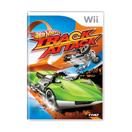 Jogo Hot Wheels Track Attack - Wii