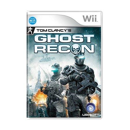 Jogo Tom Clancy's: Ghost Recon - Wii