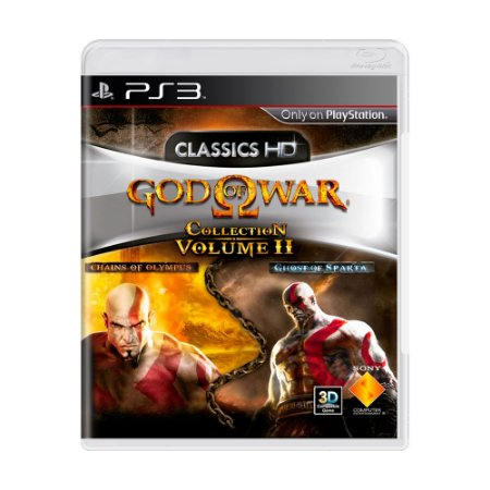 Jogo God of War: Collection Volume II - PS3