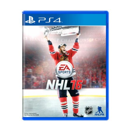 Jogo EA Sports NHL 16 - PS4