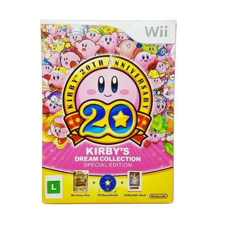 Jogo Kirby's Dream Collection (Special Edition) - Wii