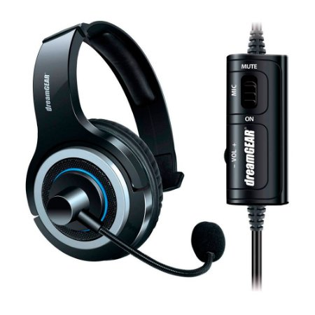 Headset DreamGear Prime com Fio - PS4