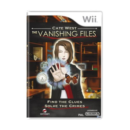 Jogo Cate West: The Vanishing Files - Wii