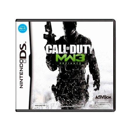 Jogo Call of Duty: Modern Warfare 3: Defiance - DS
