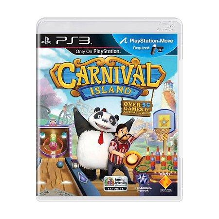 Jogo Carnival Island - PS3