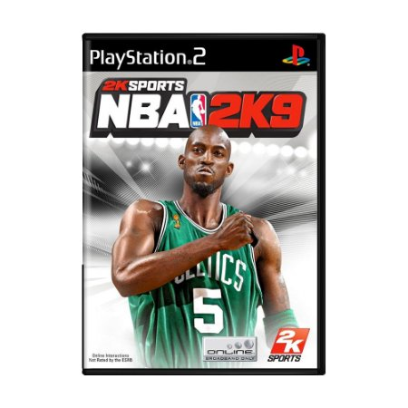 Jogo NBA 2K9 - PS2