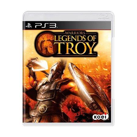 Jogo Warriors: Legends of Troy - PS3