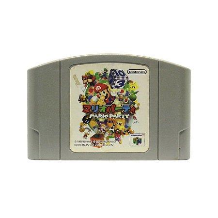 Jogo Mario Party 64 - N64