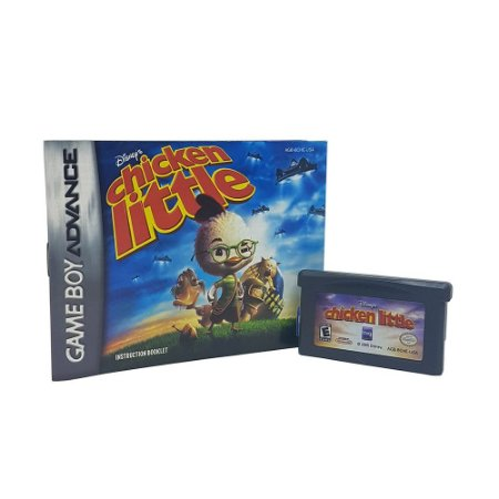 Jogo Chicken Little - GBA Game Boy Advance