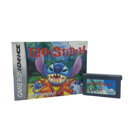Jogo Lilo & Stitch - GBA Game Boy Advance