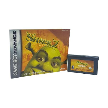 Jogo Shrek 2 - GBA Game Boy Advance