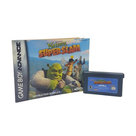 Jogo Shrek SuperSlam - GBA Game Boy Advance