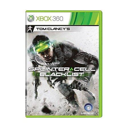 Jogo Tom Clancy's: Splinter Cell Blacklist - Xbox 360