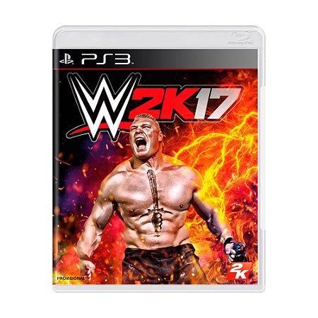 Jogo WWE 2K17 - PS3