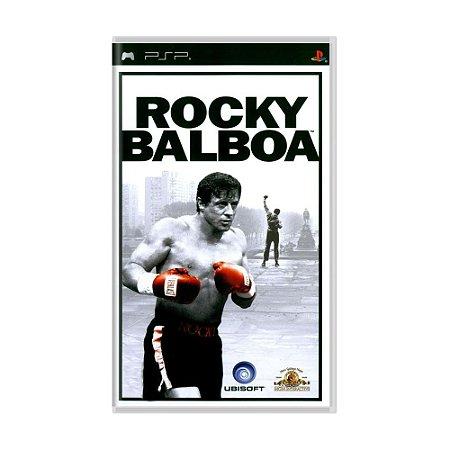 Jogo Rocky Balboa - PSP