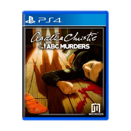 Jogo Agatha Christie: The ABC Murders - PS4
