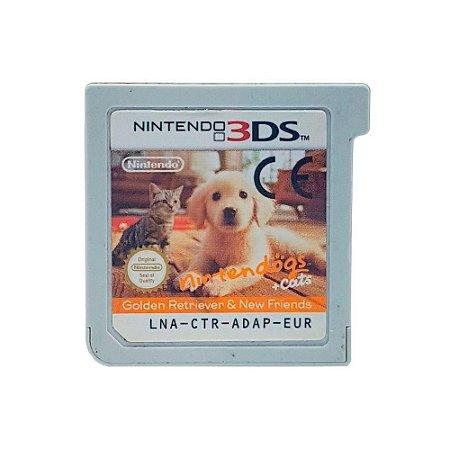 Jogo Nintendogs + Cats - 3DS