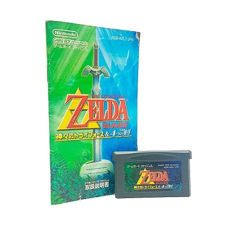 Jogo Zelda no Densetsu - GBA