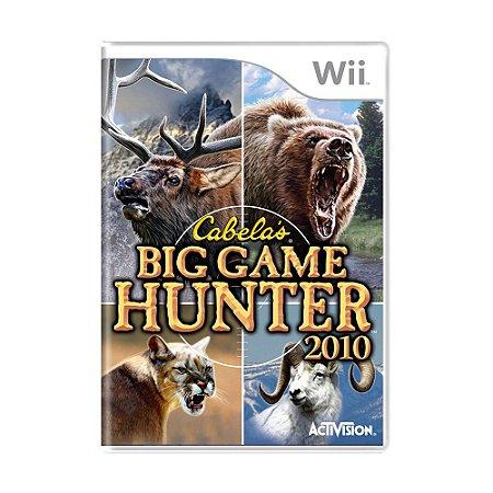 Jogo Cabela's Big Hunter 2010 - Wii