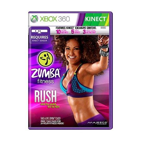 Jogo Zumba Fitness: Rush - Xbox 360