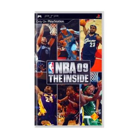 Jogo NBA 09: The Inside - PSP