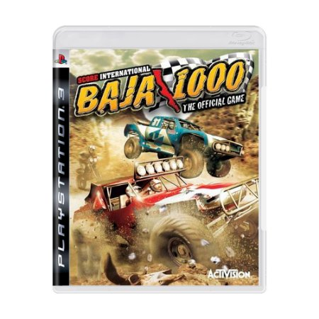 Jogo SCORE International Baja 1000 - PS3