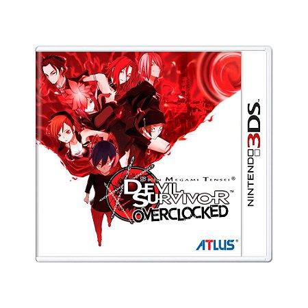 Jogo Shin Megami Tensei Devil Survivor Overclocked - 3DS