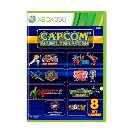 Jogo Capcom Digital Collection - Xbox 360