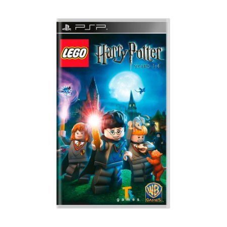 Jogo LEGO Harry Potter: Years 1-4 - PSP