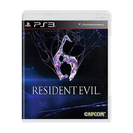 Jogo Resident Evil 6 - PS3